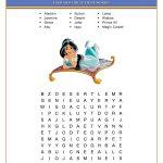 Printable Fun Disney Word Searches   101 Activity