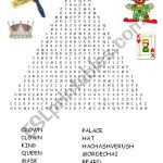 Purim Word Search   Esl Worksheetadva