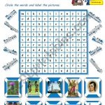 Scotland A Wordsearch For Young Learners   Esl Worksheet