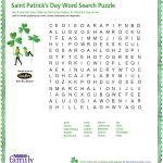 St Patrick's Day Word Search Printable   Google Search (With