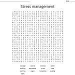 Stress Management Word Search   Wordmint
