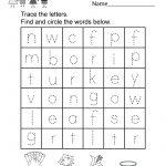 Thanksgiving Word Search Worksheet   Free Kindergarten