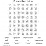 The French Revolution Word Search   Wordmint