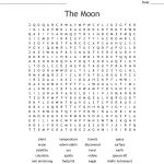The Moon Word Search   Wordmint