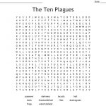 The Ten Plagues Word Search   Wordmint