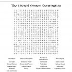 The United States Constitution Word Search   Wordmint