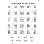 The Witchesroald Dahl Word Search   Wordmint
