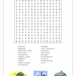 Travel And Transport Word Search   English Esl Worksheets