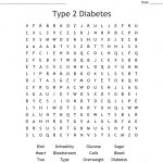 Type 2 Diabetes Word Search   Wordmint
