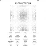 Us Constitution Word Search   Wordmint