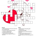 Valentine's Day Crossword Puzzle | Valentine Words