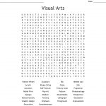 Visual Arts Word Search   Wordmint