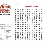 Winnie The Pooh Word Finds   Google Search | Word Find