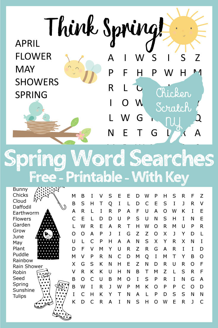 Word Search & Crossword Puzzles & Mazes
