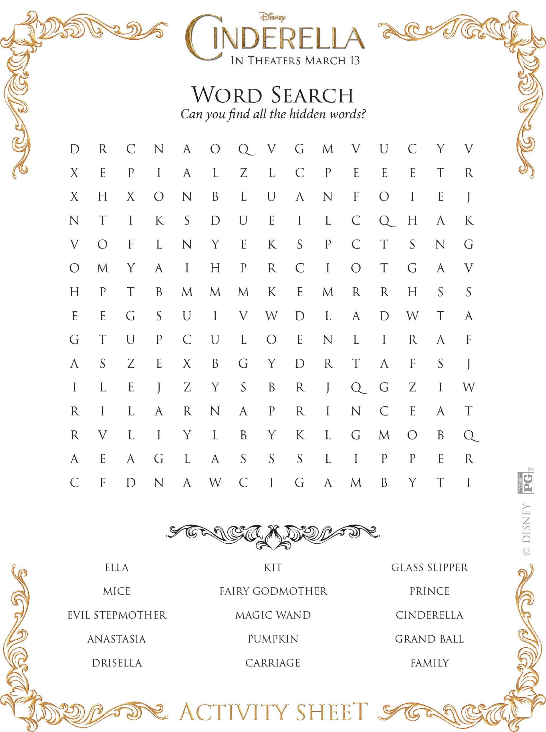 Word Search (With Images) | Zootopia Coloring Pages