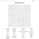 World War Ii Word Search   Wordmint