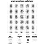 Wrestling Crosswords, Word Searches, Bingo Cards   Wordmint